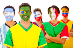 Group of Latin people Royalty Free Stock Photos