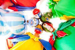 Group of Latin people Stock Images