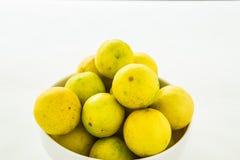 Group of lemon isolated on white background Royalty Free Stock Photo