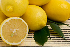 Group of lemons Royalty Free Stock Photos