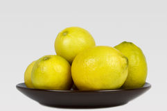Group of lemons Stock Photos