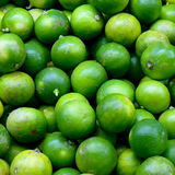 Group of limes in the market Stock Photography