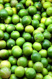 Group of limes in the market Royalty Free Stock Photos