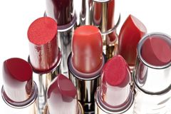 Group of lipsticks Stock Image