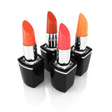 Group of lipsticks Royalty Free Stock Images
