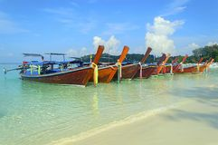 Longtail boats Royalty Free Stock Image