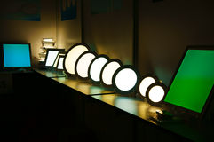 Group of luxury lamp Royalty Free Stock Photography