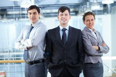 Group of managers Stock Photography
