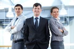 Group of managers Stock Images