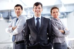 Group of managers Stock Photos