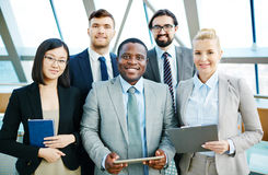 Group of managers Royalty Free Stock Photos