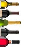 Group of many bottles Stock Image