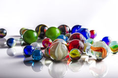 Group of Marbles Stock Images