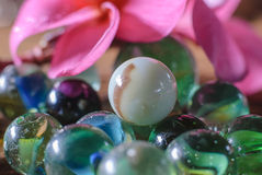 Group of marbles Royalty Free Stock Photography