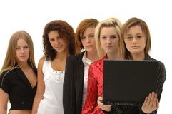 Group Marketing Team Stock Images
