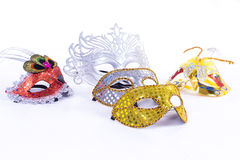 Group masks Royalty Free Stock Photography