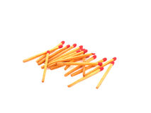 Group of matches Stock Photography