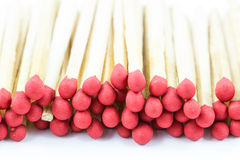 Group of matches isolated Stock Photo