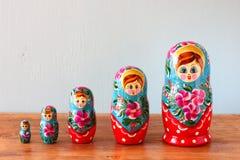 Group of matryoshka family. Pic Stock Photography