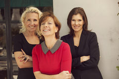 Group of mature business women. Happy group of mature business women Stock Photography