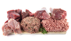 Group of meat Stock Photography