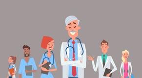 Group Medial Doctors Team Clinics Hospital Stock Image