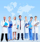 Group of medical doctor. royalty free stock images