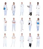 Group of medical doctors Royalty Free Stock Photos
