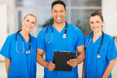 Group medical experts Royalty Free Stock Image