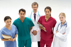 Group of medical professionals Royalty Free Stock Images