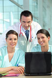 Group of medical professionals Royalty Free Stock Image