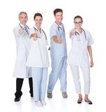 Group of medical professionals Royalty Free Stock Photos
