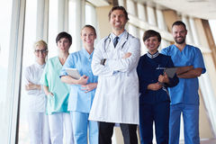 Group of medical staff at hospital Royalty Free Stock Images