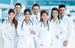 Group of medical staff Stock Images