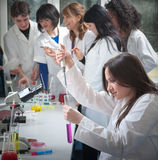 Group of medical students Stock Photos