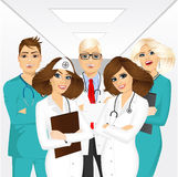 Group of medical team professionals Stock Photography