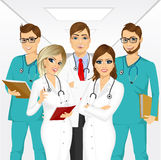 Group of medical team professionals Royalty Free Stock Photography