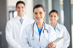 Group medical workers Royalty Free Stock Photos