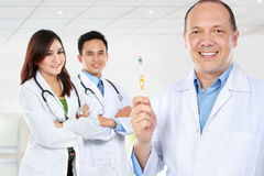 Group of medical workers. dentist Royalty Free Stock Images
