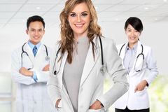 Group of medical workers Royalty Free Stock Photography