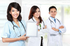 Group of medical workers Royalty Free Stock Images
