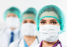 Group of medics Stock Photography