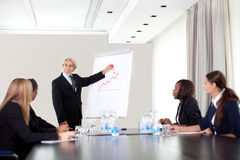 Group meeting of business people Stock Photography