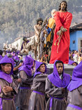 Antigua Easter Procession, Guatemala Royalty Free Stock Photography