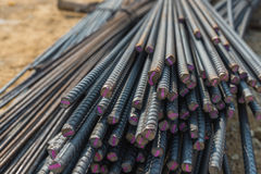 The group of metal wire for construction Stock Photography