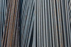 The group of metal wire for construction Stock Images