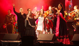 A group of mexican female singers called las mujeres de chavela Stock Image