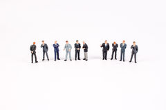 The group of  mini business people Royalty Free Stock Photos