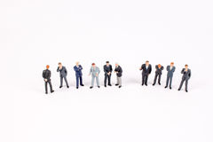 The group of  mini business people Stock Image