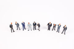The group of  mini business people Stock Photography